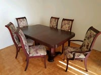 Dining table with chairs Toronto, M9A 1B2