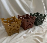 Better Homes & Gardens Collection Decor 3 Wood baskets