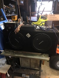 Subwoofers/amp/stereo