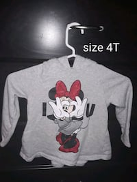 gray and black Mickey Mouse-printed pullover hoodie East Wenatchee, 98802