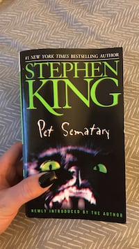 Pet Sematary by Stephen King book Sunrise, 33313