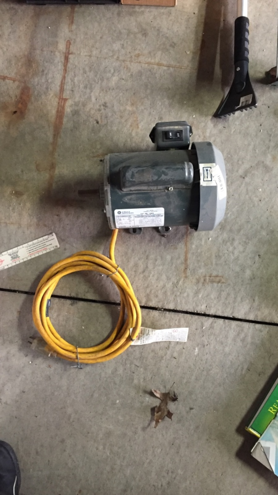 Electric Motor With On And Off Switch In Northlake Letgo
