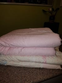 Baby Bunny pink Duvet set of two Burnaby, V5H 4S4