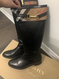 Burberry house check detail riding boots Vaughan, L4H 2P8