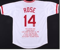 Pete Rose signed jersey Elk Grove, 95624