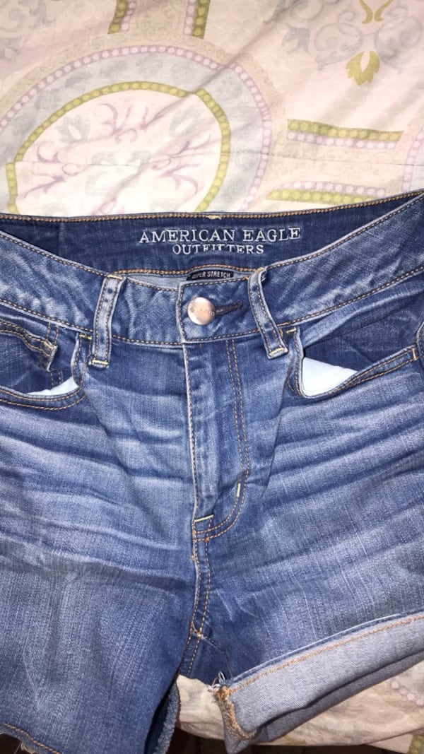 American Eagle jean shorts 1