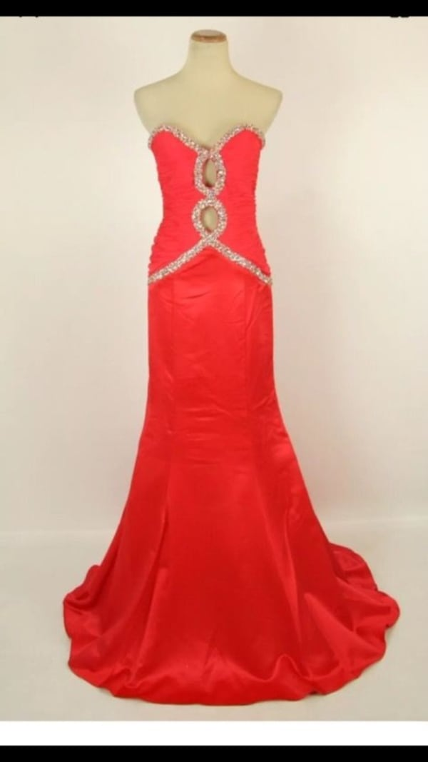 New with tags Red prom  by Jovani gown formal  08edc733-6918-483c-94a0-ae129e9d7c37