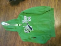 1 medium green old navy hoodie