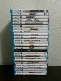Nintendo WII U Games P2 (Read Description Below) Irving, 75061