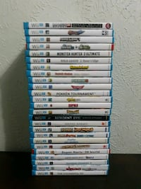 Nintendo WII U Games P2 (Read Description Below)