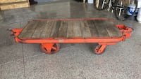 red and brown wooden bench Windsor, 80550