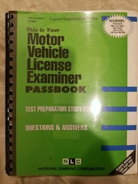 Motor vehicle License Examiner test Hicksville