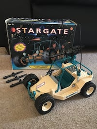 Stargate All-Terrain Cruiser 1994 Used With Box