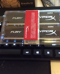 Hyperx Fury ram (Willing to ship for paypal) Burnaby, V5A 3A9