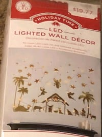 Lighted wall decor. Brand new. I have 2 of them.  Red Creek, 13143
