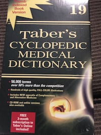 Taber's cyclopedic medical dictionary book Vancouver, V5R