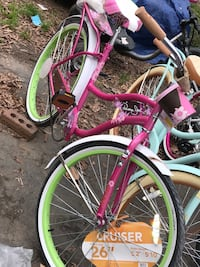 New never used woman's bike - firm price - already assembled  Concord, 28025