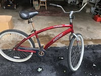 red and black BMX bike Sterling