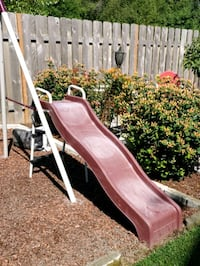 Slide only from swing set