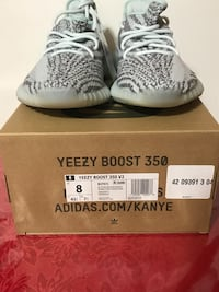 Yeezy Boost 350 V2 blue tint size 8 OBO NO LOWBALLERS College Park, 20740