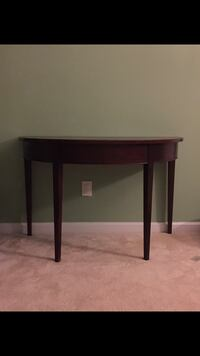 Half/semi accent/sofa/entry way table Fountain, 80817