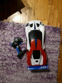 white and red RC toy car Victoria, V8N 2C6