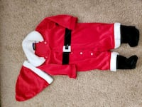 Baby Santa outfit size 3-6 months  Suffolk, 23435