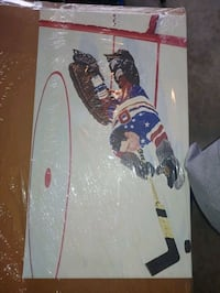 Hockey canvas pic.  Never out of the packaging.  .   Edmond, 73003