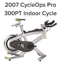 Indoor spin/power exercise bike. Pickup only Toronto, M9R 2E3