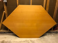 Hexagon table  Brampton, L6X 2X1