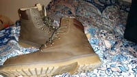 Mens  faux leather boots