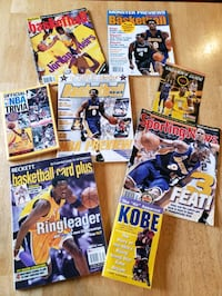 Kobe Bryant Lakers NBA basketball magazines and books