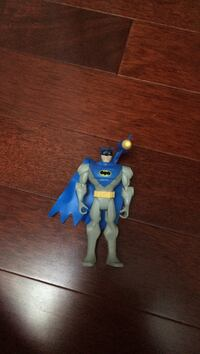 Blue batman action figure