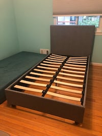 Twin Crate & Barrel bed frame