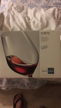 Forte wine glass box of 6 new ($66.95) Alexandria, 22310