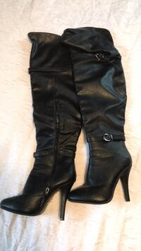 thigh high boots size 6.5  Lincoln, 68508