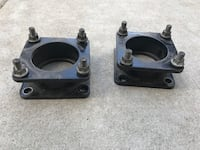 """2016 Toyota Tundra leveling spacers 3"""""""