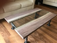 Industrial / Farmhouse Coffee Table  Alexandria