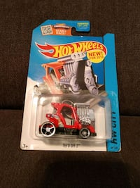 TEE'D OFF 2 HotWheels Car Charleston, 29414