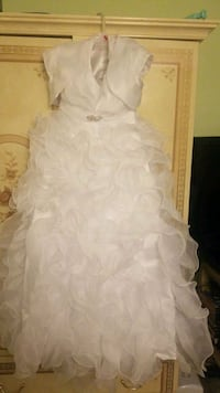 Kids size 12 flower girl or baptism dress