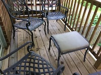6 piece Iron Patio Set Columbia, 21044