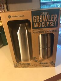 Brand New In box Growler Set with 2 cups  Perfect for summer Kalamazoo, 49007