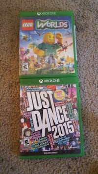 Just Dance 2015 and Lego world both xbox one