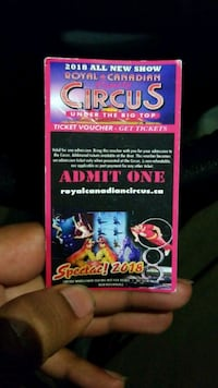 Royal Canadian circus  Whitby, L1M 2L3