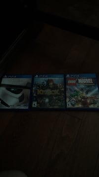 3 ps4 games 15 for one 45 for all Cambridge, N3C 4G7