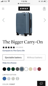 Away Suitecase - Bigger Carry-On (brand new)