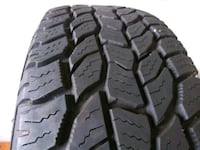 """2 like-new 15"""" Cooper Discovery AT3 tires Palm Bay, 32909"""