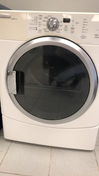 White front-load clothes dryer  Manchester, 03102