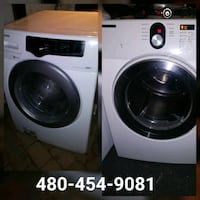 Samsung washer dryer $400 30day warranty Glendale, 85308