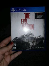 Ps4 The Evil Within Game Bellevue, 68005